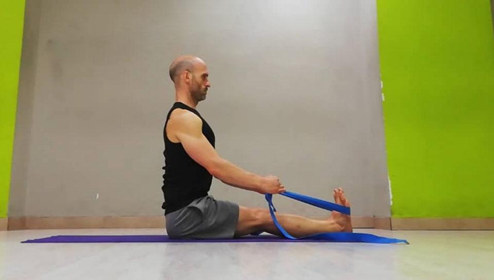 Uso de accesorios en yoga